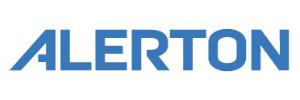Alerton logo on a white background