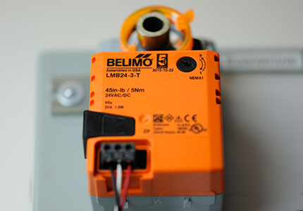 Belimo device close up