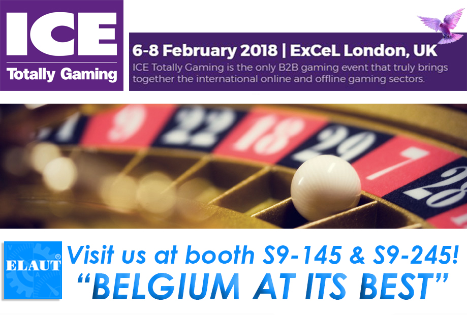 ICE LONDON 2018 for ICE Totally Gaming