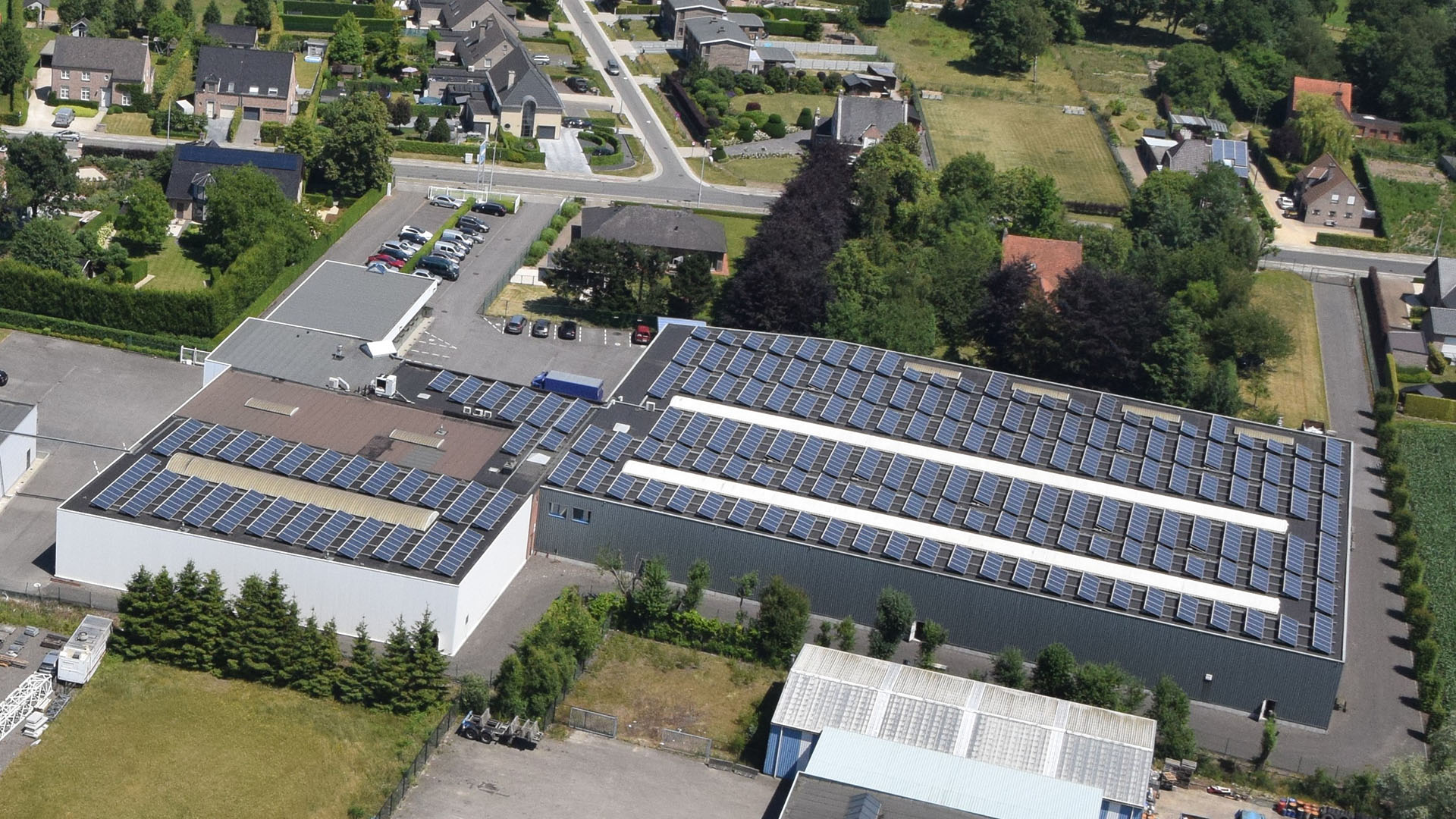'we are serious about substainability: our photovoltaic systems are doing a great job'