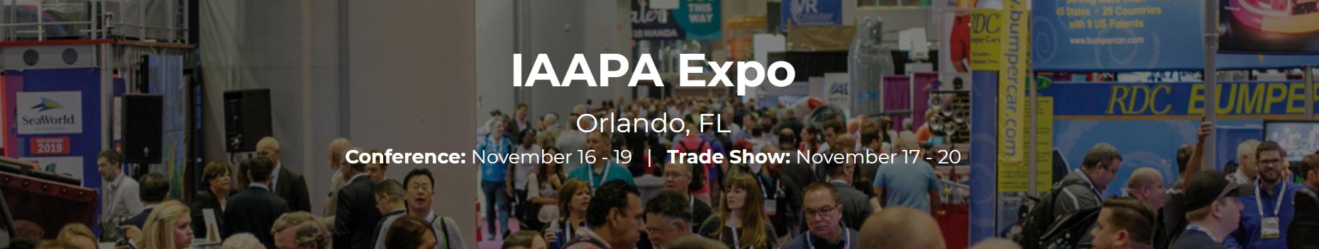 IAAPA Expo 2020