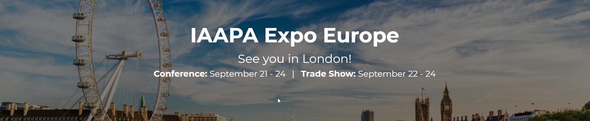 IAAPA EXPO London 2020