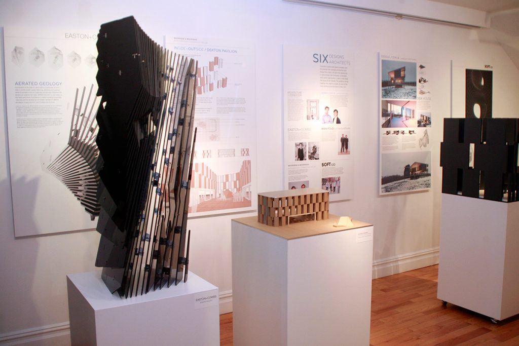 Surface Innovation exhibition at the Center for Architecture