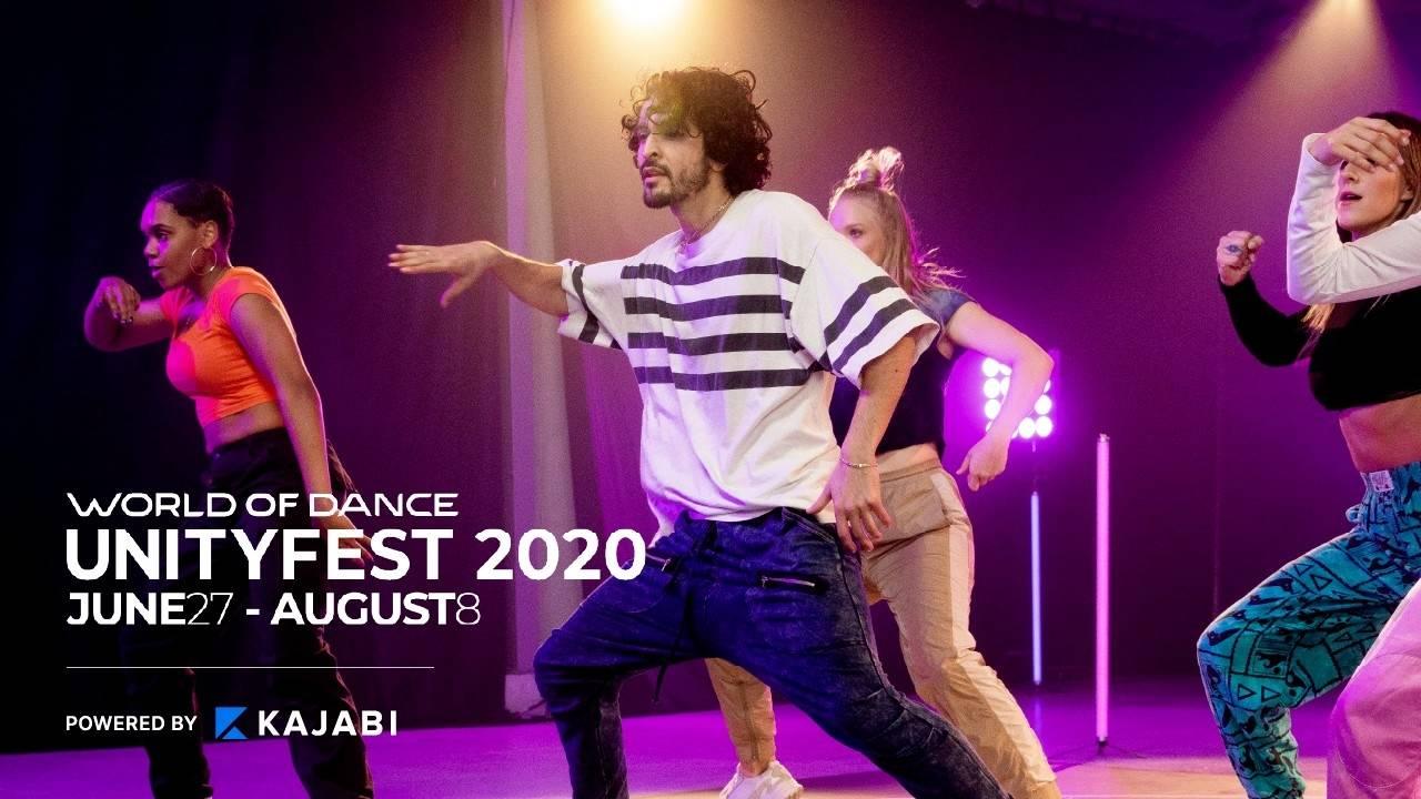 World of Dance Partners with Kajabi to Launch UnityFest, a Six-week Virtual Global Dance Fest