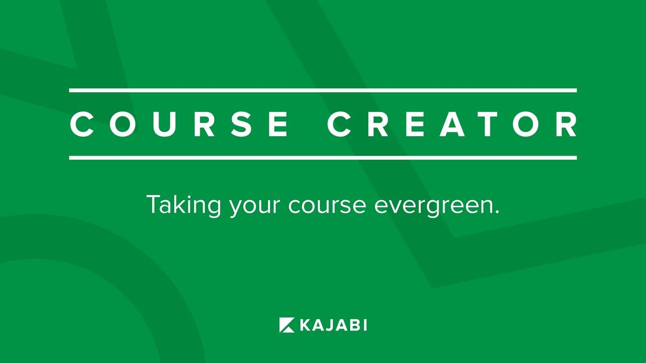 How To Create An Evergreen Course To Sell Online