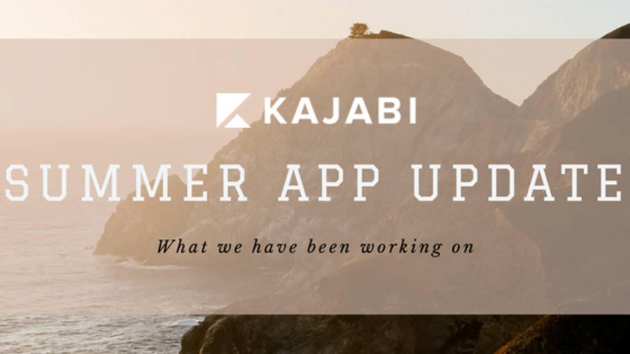 Kajabi Summer App Update