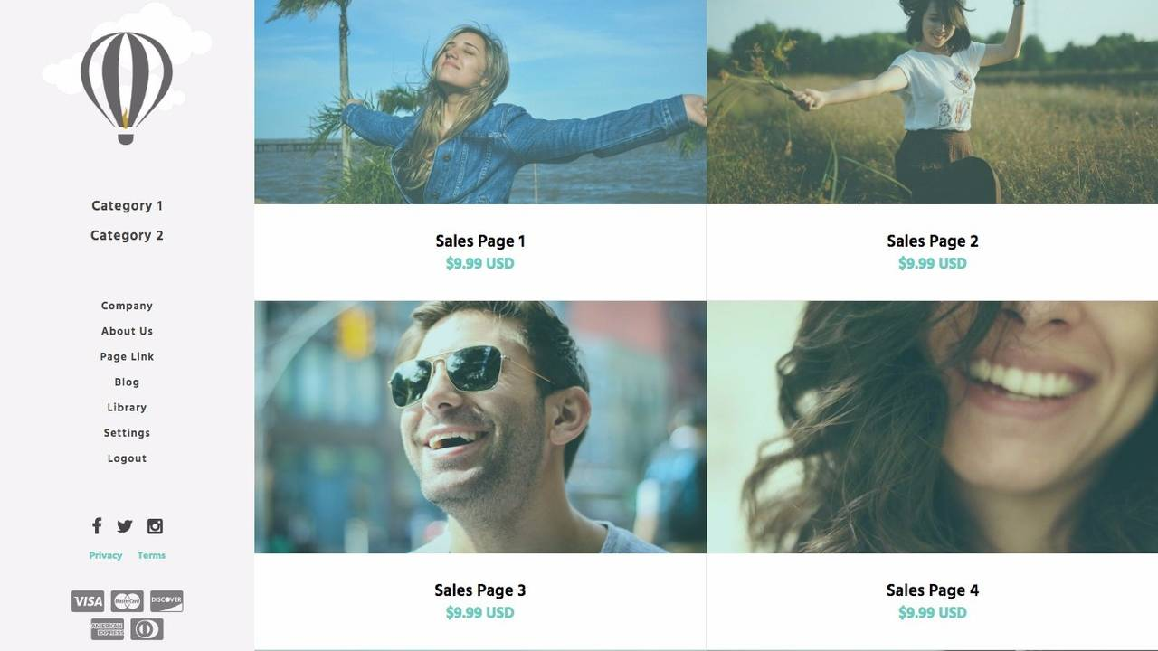 Kajabi Website Templates: Kajabi Themes To Build A Beautiful Website