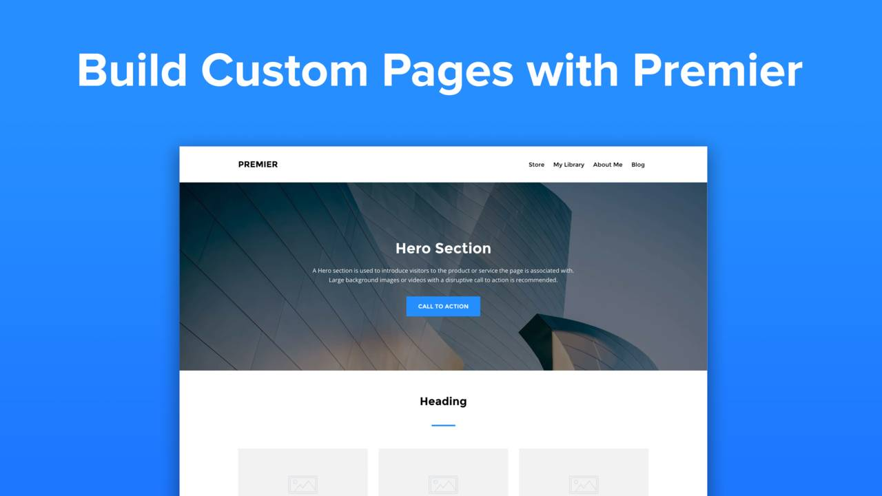 Announcing Premier - The Easiest, Most Flexible, Most Powerful Page Builder Ever