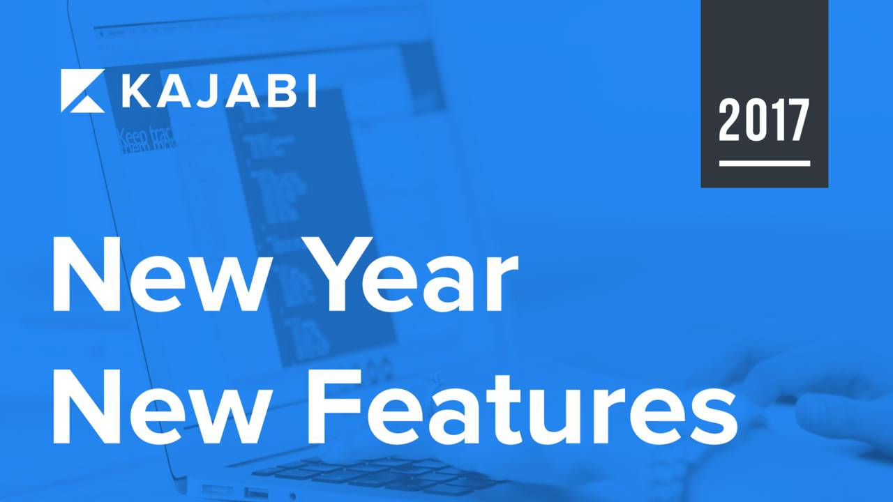 New Year, New Features!