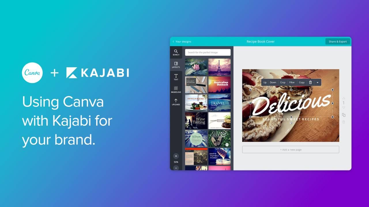 Canva + Kajabi For Your Branding