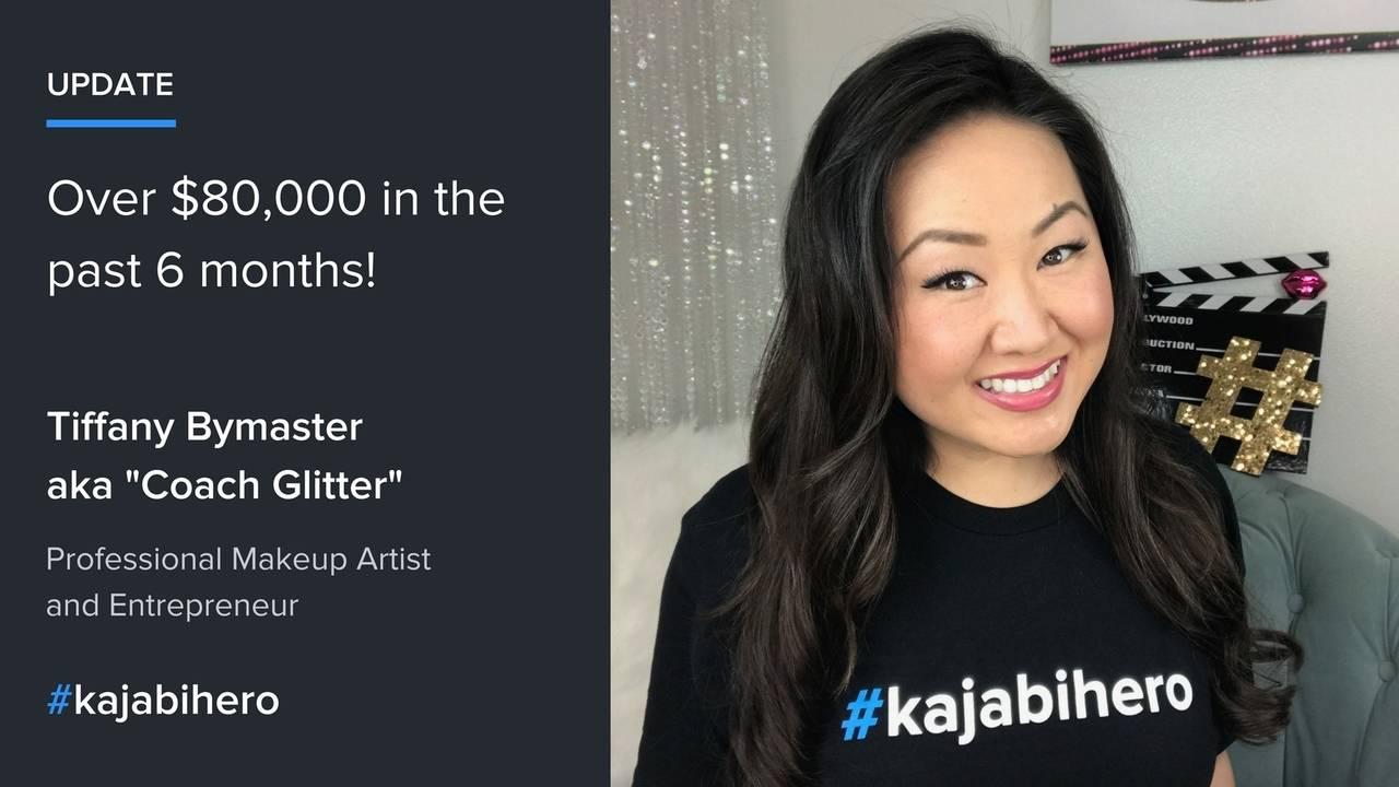 Makeup Artist Makes Over $80,000 in Online Course Sales with Kajabi