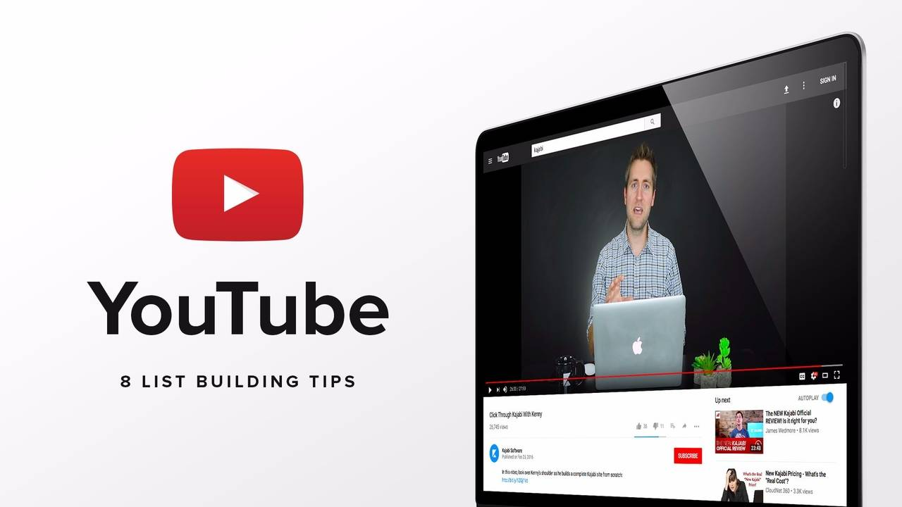 8 Steps To Building Your List Through YouTube