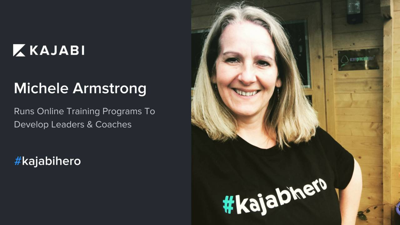 Leverage Your Expertise Into An Online Platform With This Week's #kajabihero