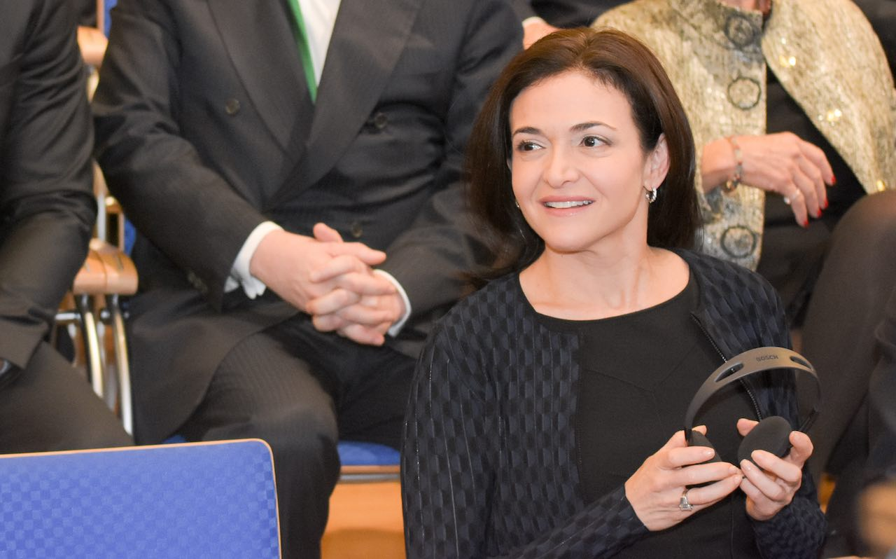 Sheryl Sandberg, Facebook CEO, at the Opening Ceremony, 67th IAA International Motor Show in Frankfurt/Main