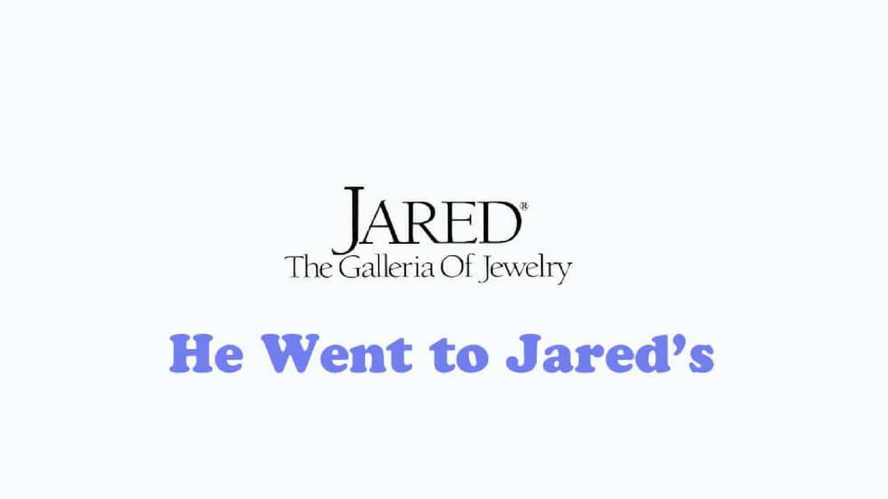 Jared logo and tagline
