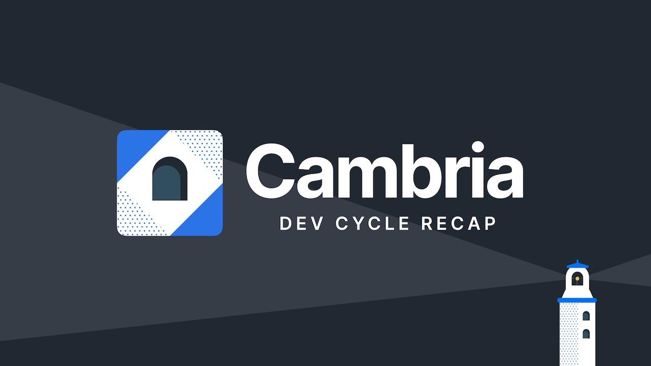 Cambria Recap: Kajabi adds powerful new features & improvements