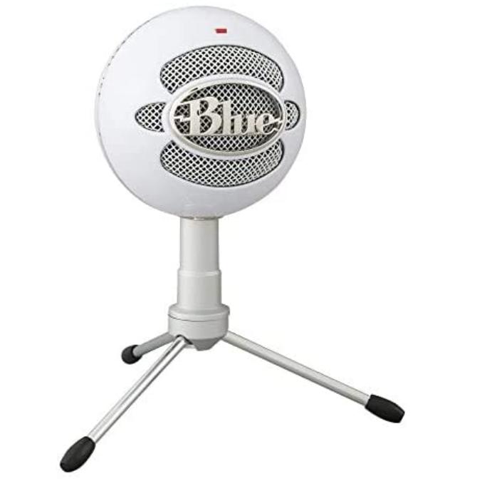 Blue brand microphone