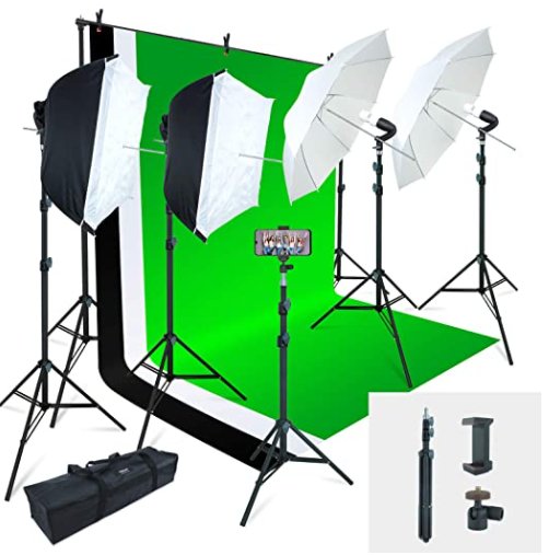 Greenscreen setup