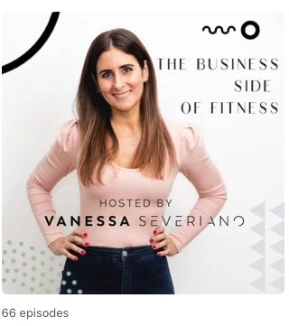 Screenshot of The Business Side of Fitness podcast