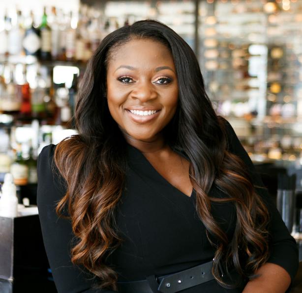 Image of event planner Akeshi Akinseye smiling