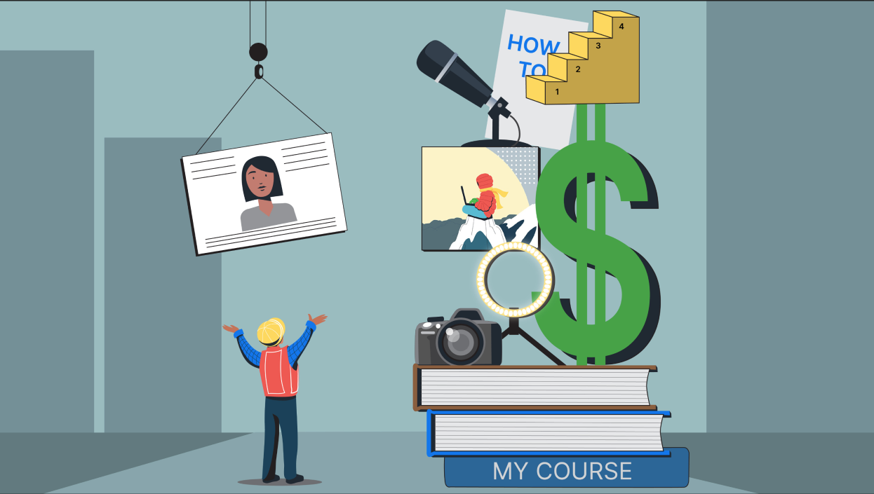 How to design an online course