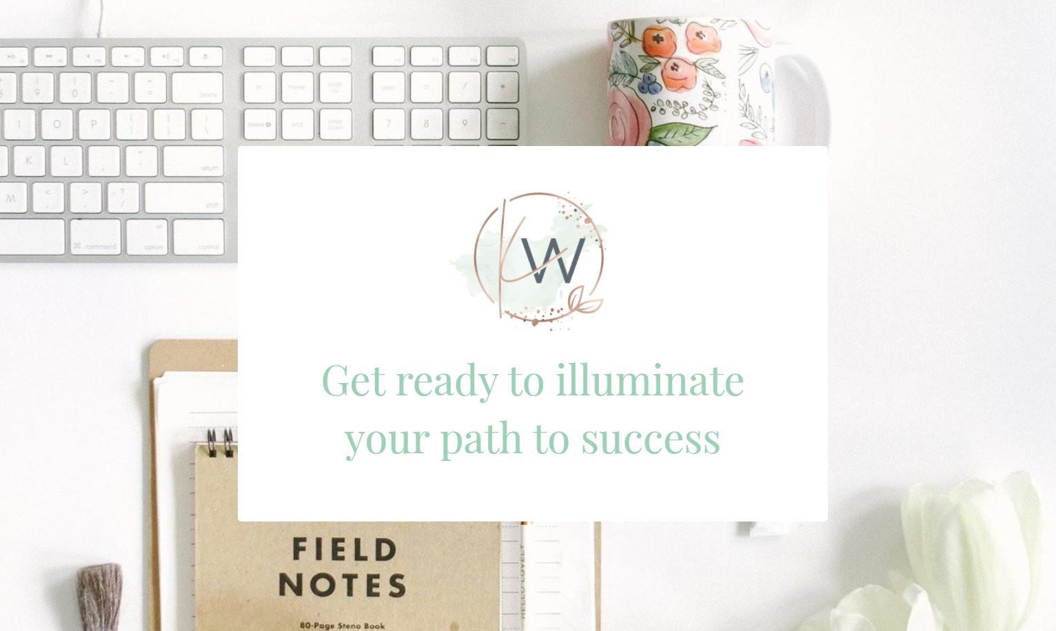 Screenshot of Illuminate Consulting website