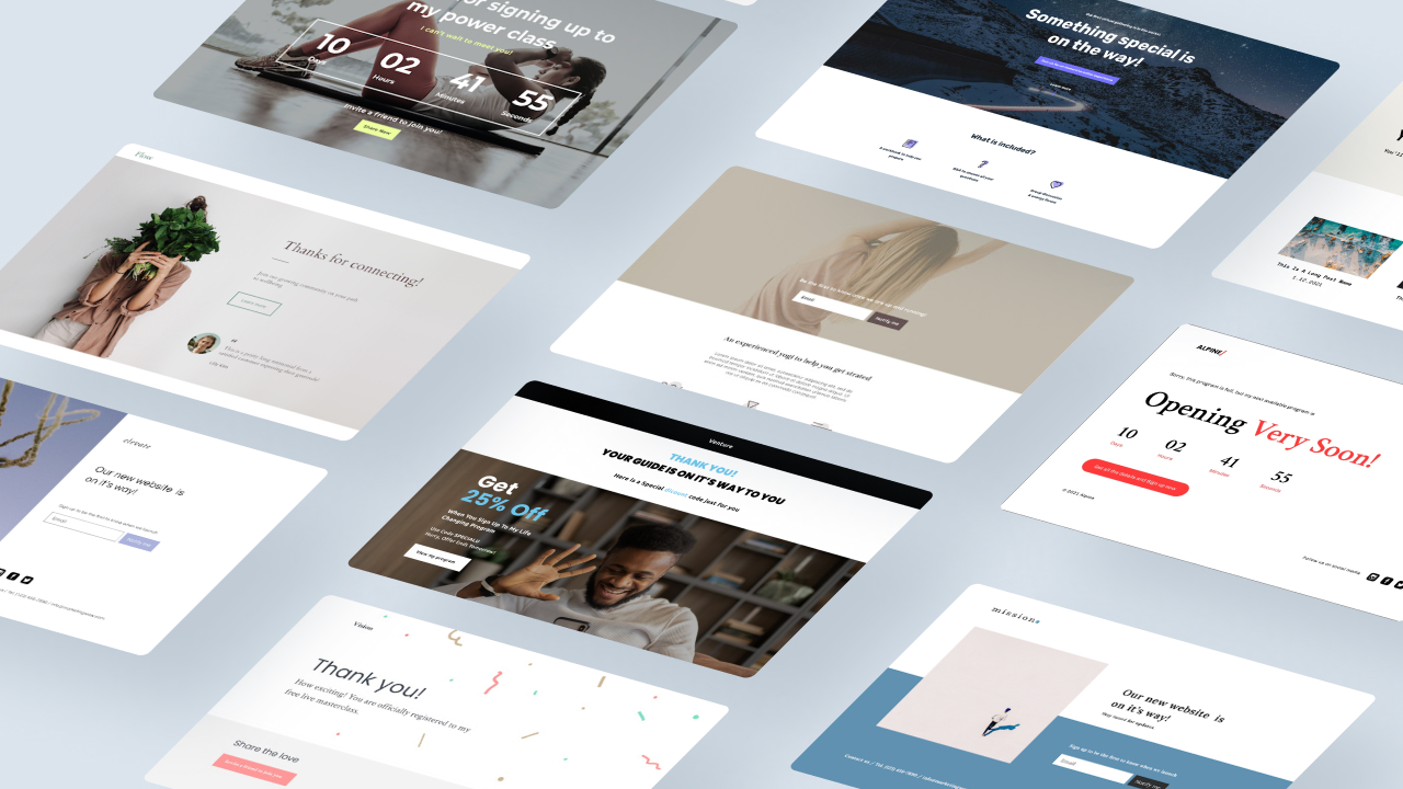Kajabi launches new 'thank you' and 'coming soon' landing page templates