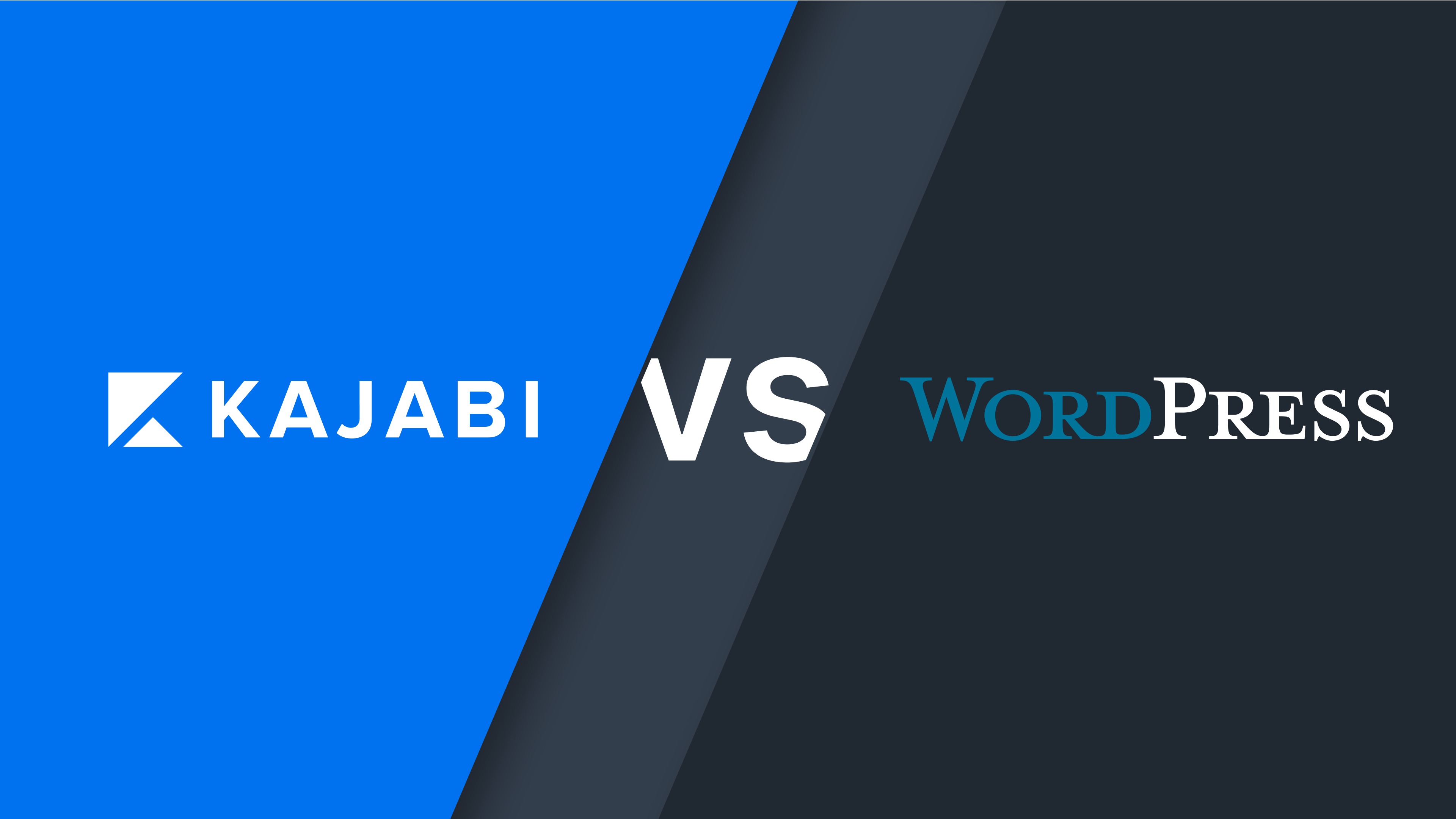 Kajabi vs. Wordpress: Which will support your knowledge commerce site best?