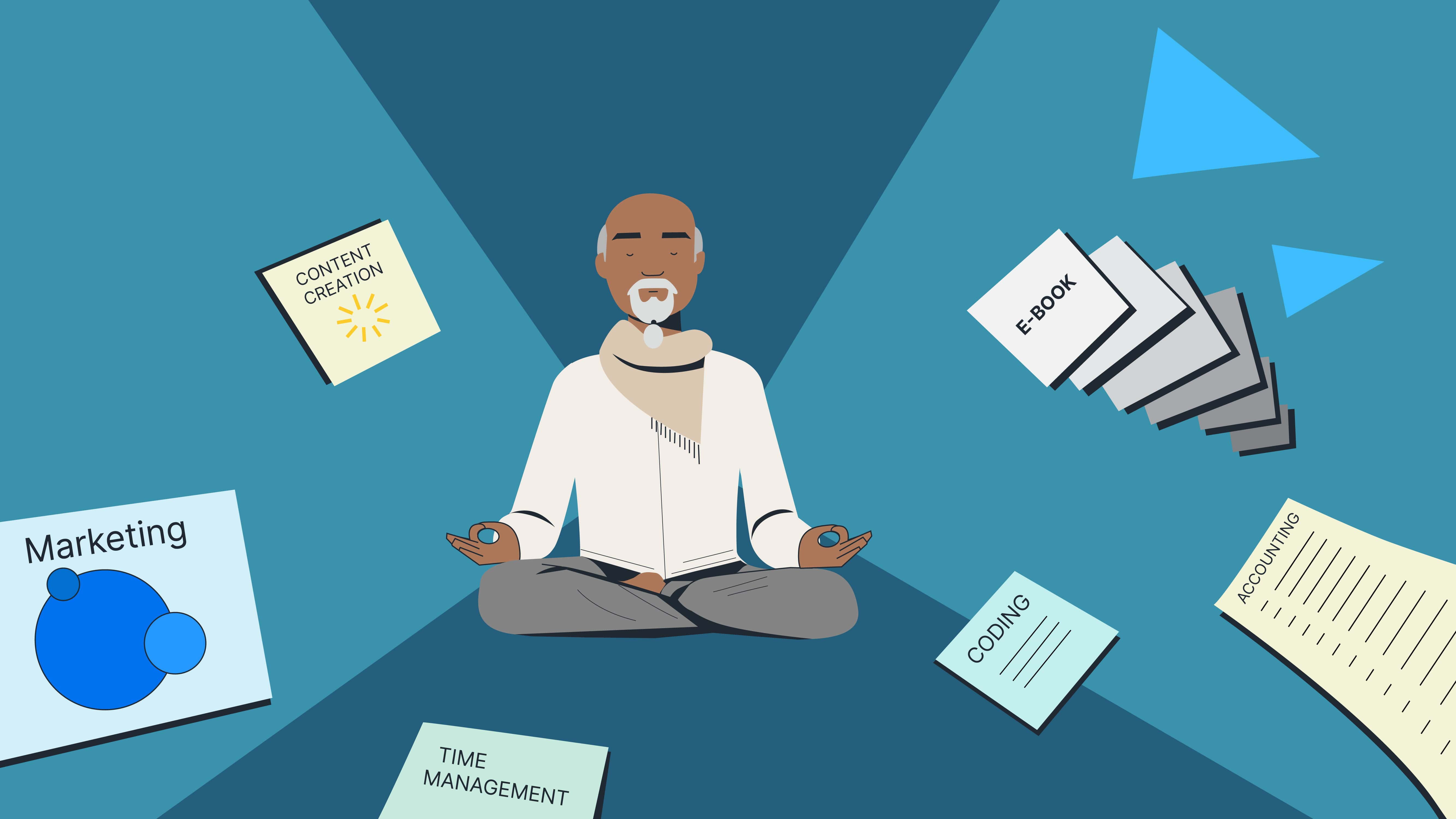 Practicing mindfulness in your knowledge commerce business
