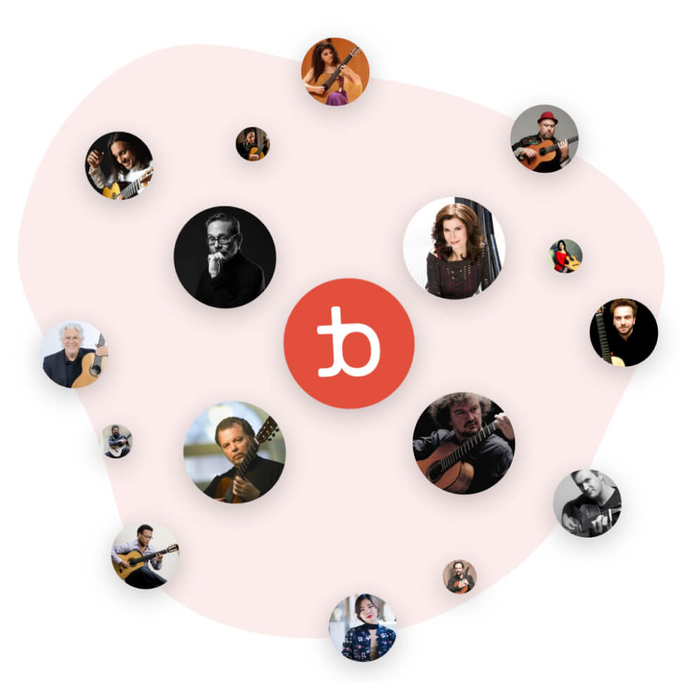 Artists on tonebase | Learn from over 70 world-class guitarists on tonebase