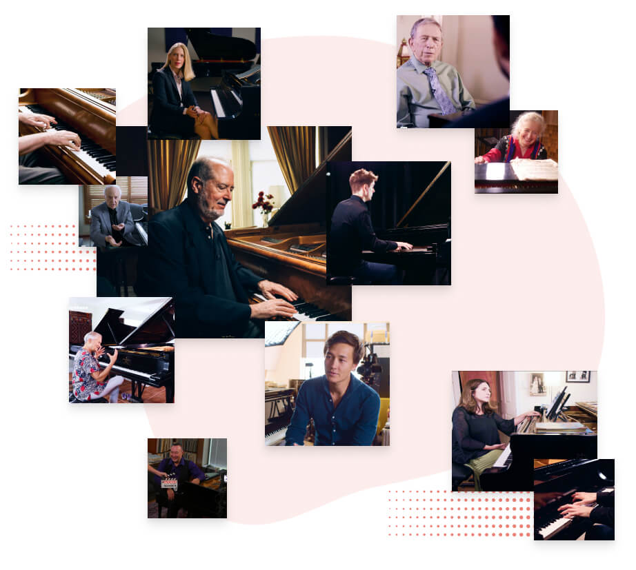 Interviews with legends of the Classical Piano on tonebase