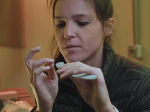 Giulia Ballare on Fake Nails