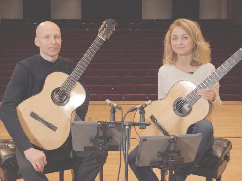 Kupinski Duo On Duo Playing