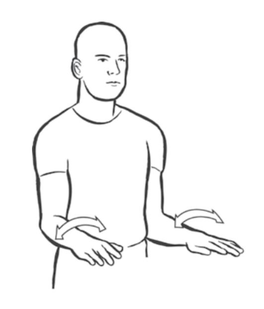 musician stretch