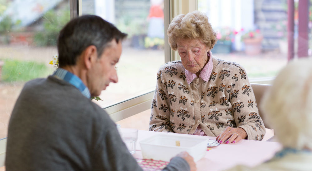 choosing an aged care home