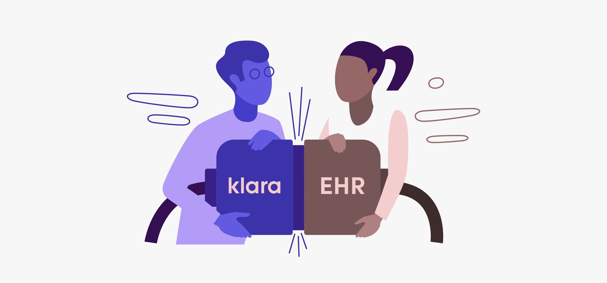 Automated and seamless workflows between Klara and Modernizing Medicine seek to improve the patient experience