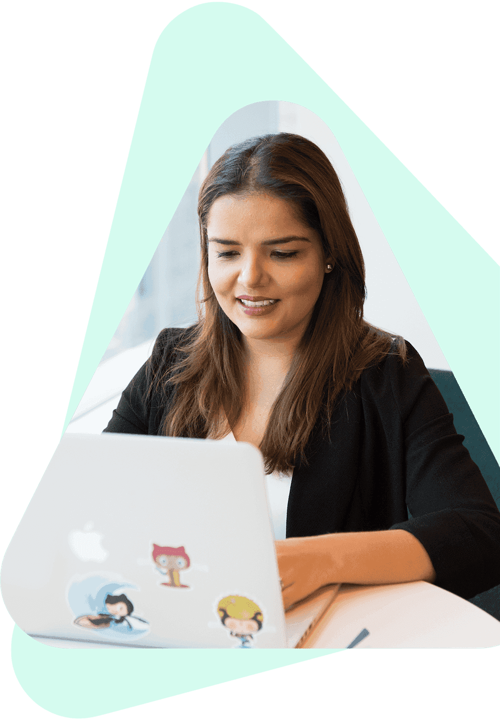 microverse: woman working