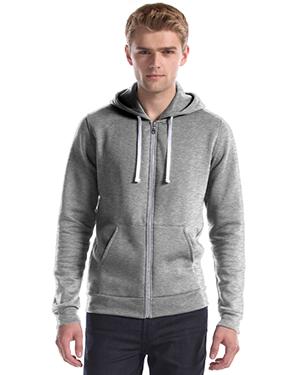 Slim Fit Full Zip Hooded Sweatshirt