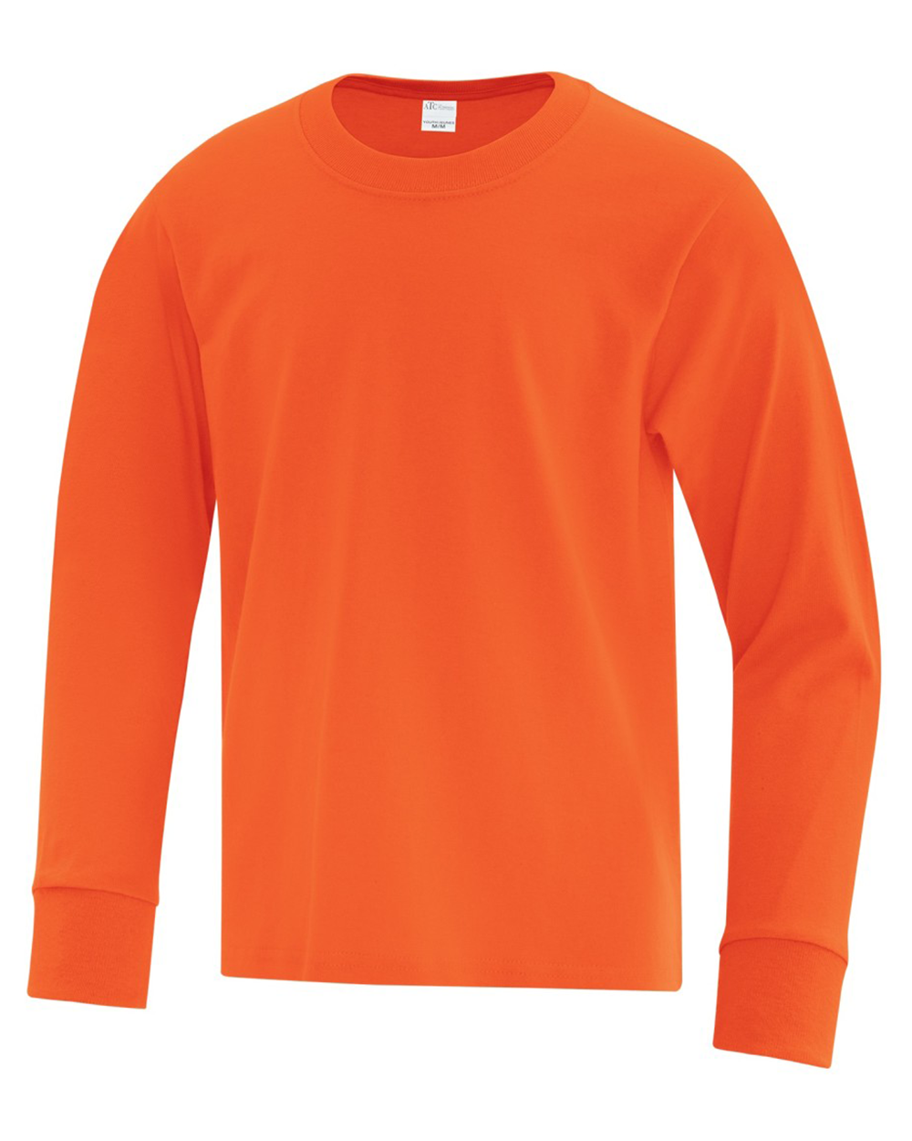 Everyday Cotton Long Sleeve Youth T-Shirt