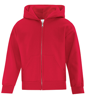 Everyday Fleece Full Zip Hooded Youth Sweatshirt