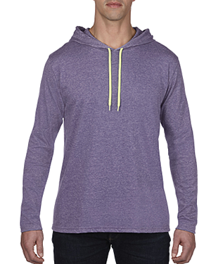 Lightweight Long Sleeve Hooded T-Shirt