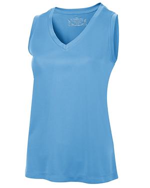 Pro Team Ladies' Sleeveless V-Neck T-Shirt