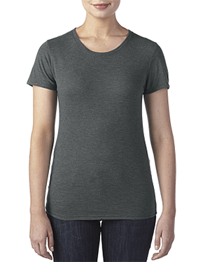 Ladies' Triblend Crew Neck T-Shirt