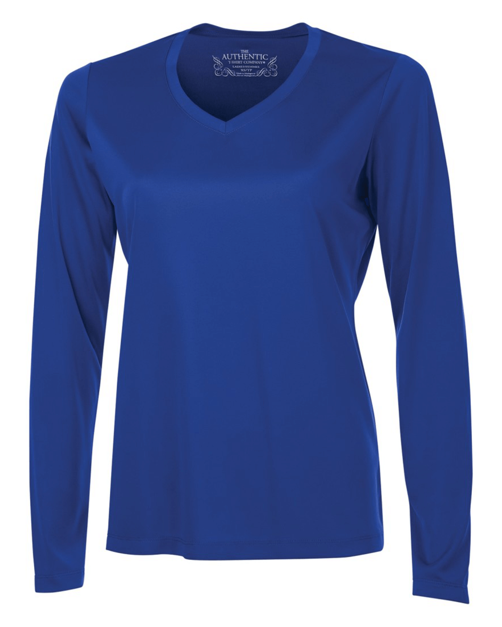 Pro Team Ladies' Longsleeve V-Neck T-Shirt
