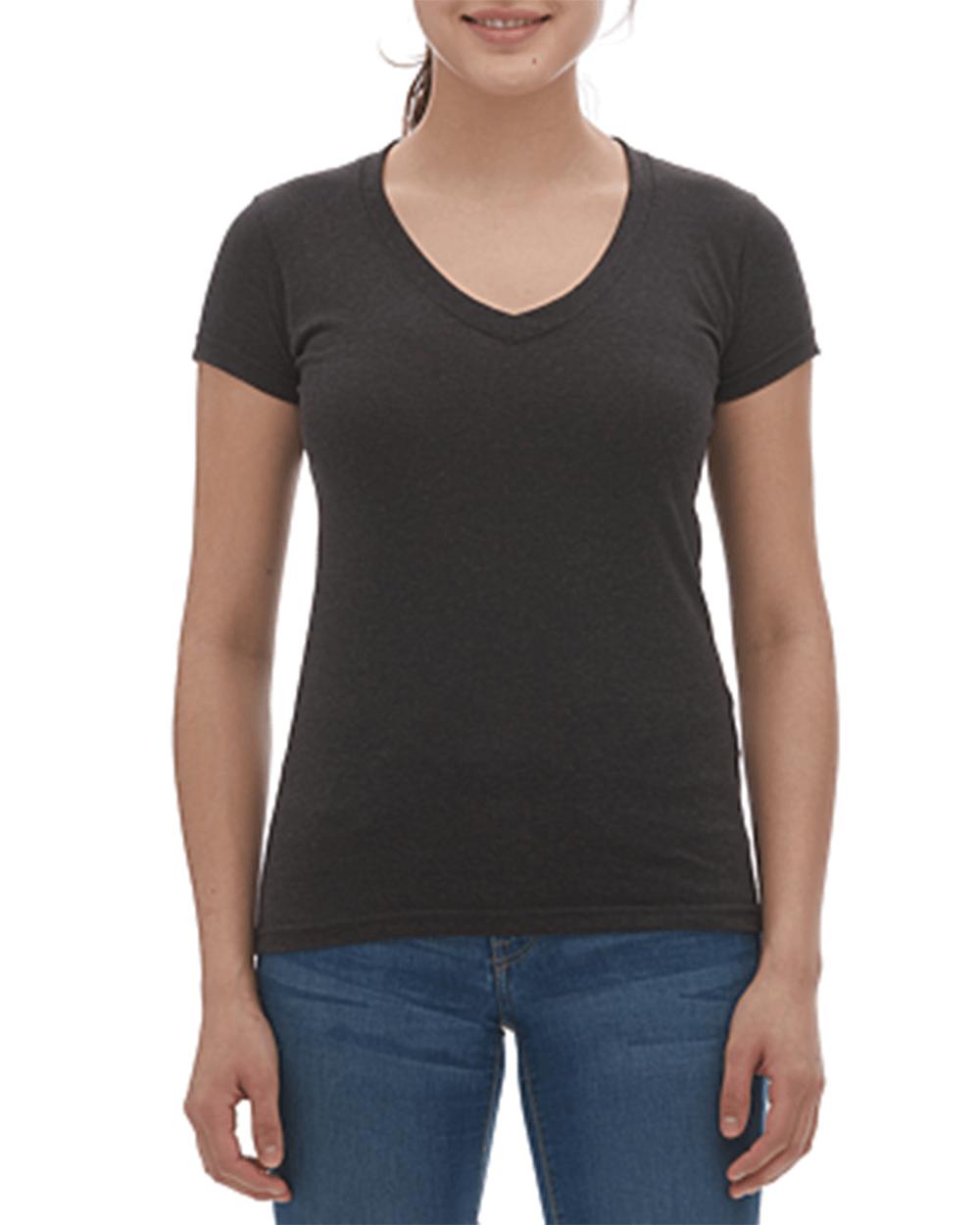 Ladies Blend V-Neck T-Shirt