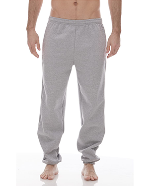 Pocketed Sweatpants with Elastic Cuffs