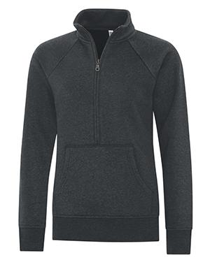 ES Active Vintage 1/2 Zip Ladies Sweatshirt