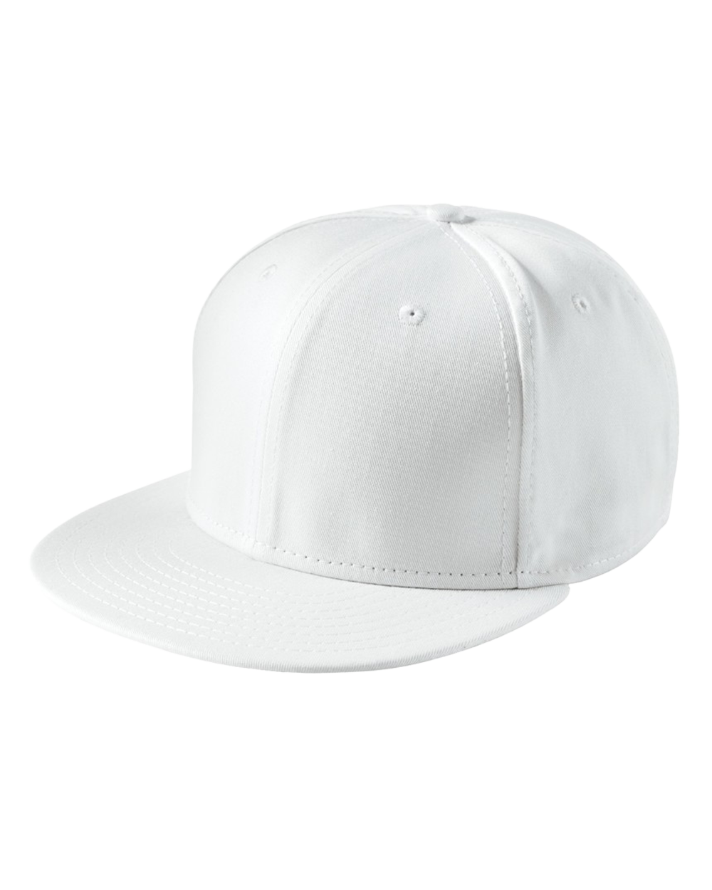 Flat Bill Snapback Cap