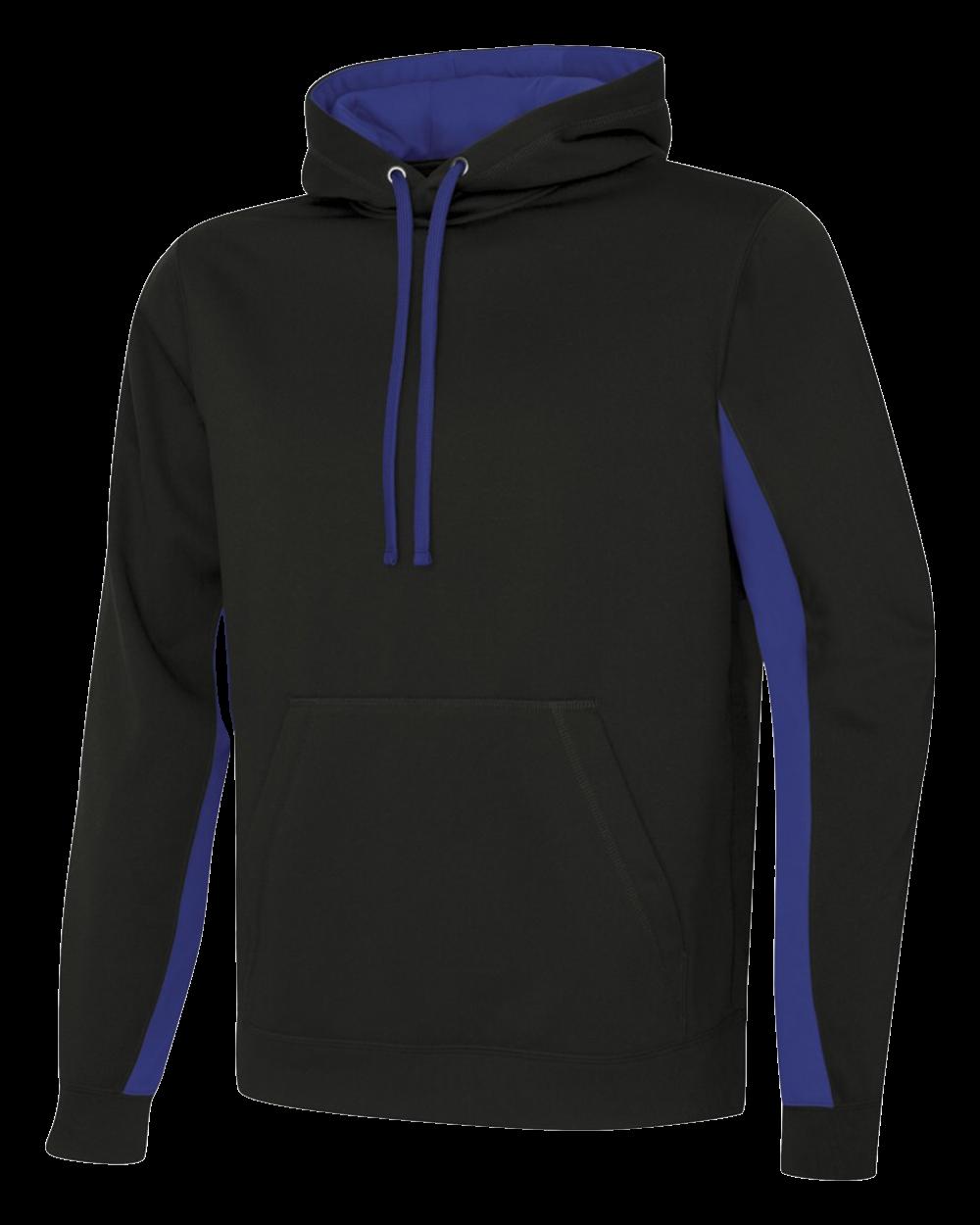 Game Day Fleece Colour Block Hooded Sweatshirt