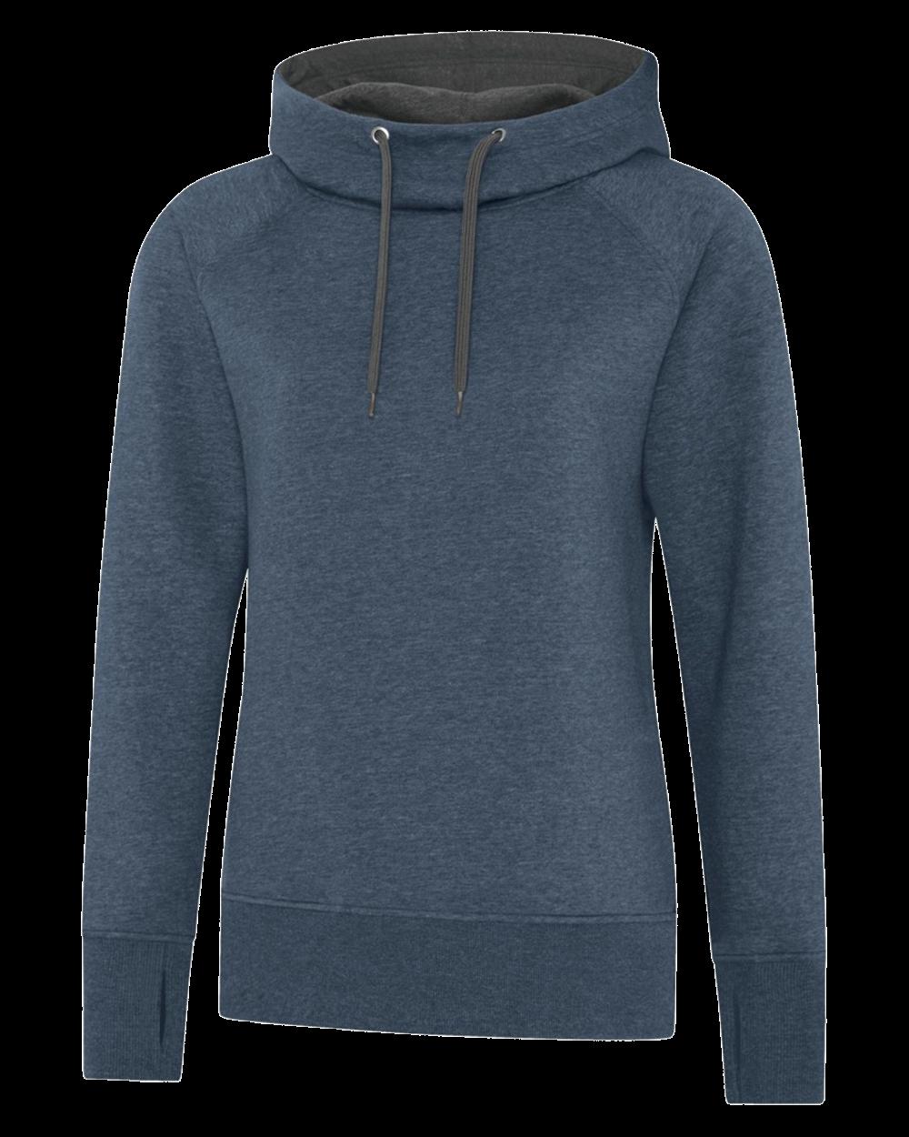 ES Active Vintage Hooded Ladies Sweatshirt
